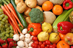 Фрукты и овощи при остеохондрозе