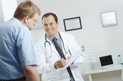 Посещение врача перед началом занятий