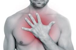 Боль за грудиной при вдохе - симптом артроза реберно-позвоночных суставов