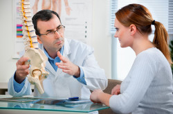 Консультация врача при лечении осеохондрозе