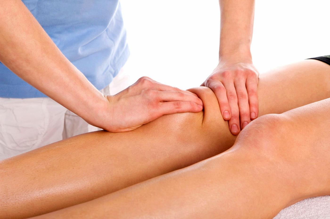 Как сделать массаж колен артроз