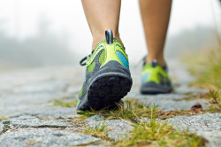 Физические нагрузки - причина пяточного бурсита