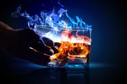Алкоголь - причина отложений солей в суставах