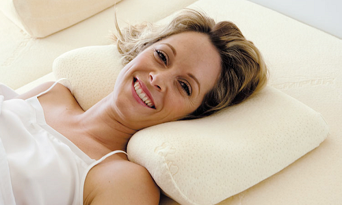 Ортопедическая подушка при остеохондрозе шейного отдела позвоночника