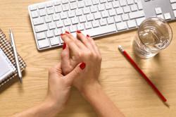 Нагрузка на суставы  пальцев рук