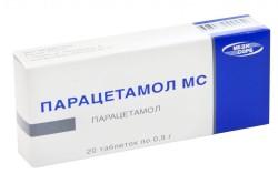 Парацетамол для лечения межпозвоночной грыжи
