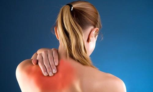 Боли в области плеча и лопаток