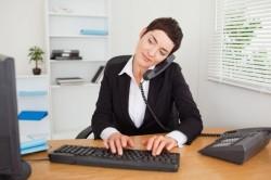 Сидячая работа как причина остеохондроза
