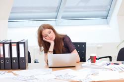 Сидячая работа как причина шейного остеохондроза