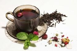 Травяной чай после парилки
