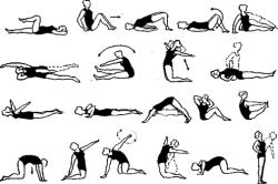 Комплекс упражнений при артрите колена