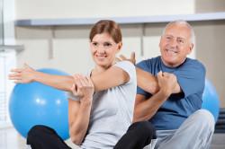 Польза ЛФК для лечения плечелопаточного периартрита