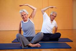 Легкие физические нагрузки при остеопорозе