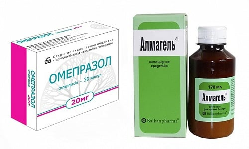 Омепразол и Альмагель - препараты, предназначенные для лечения функциональных или органических поражений органов пищеварения