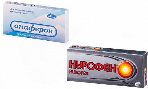 Нурофен и Анаферон входят в список самых востребованных препаратов, особенно в педиатрической практике