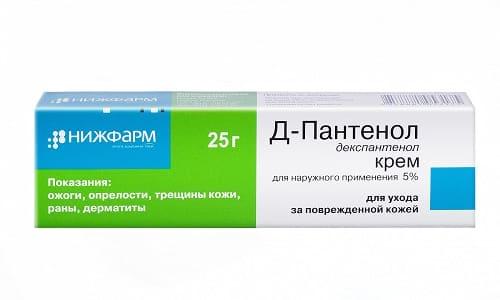 Депантенол (Д-пантенол) относится к репарантам, применяемым при лечении ран и ожогов