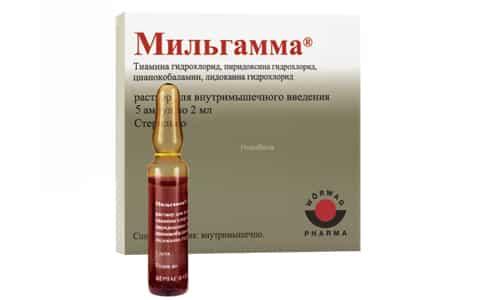 Мильгамма проявляет эффективность при таких полинейропатии