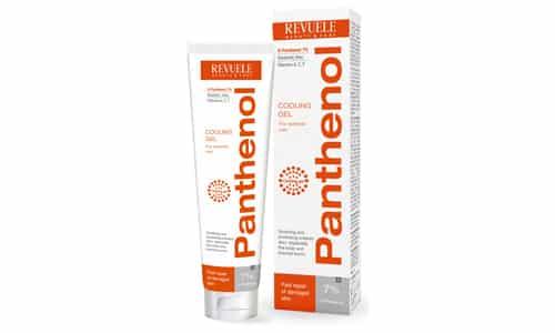 Пантенол заживляет повреждения наружных покровов